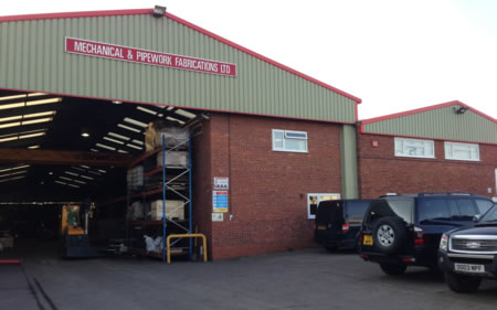 MPF Ltd office & production facilites based in Pershore, Worcestershire